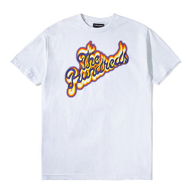 The Hundreds Flame Slant T-Shirt White