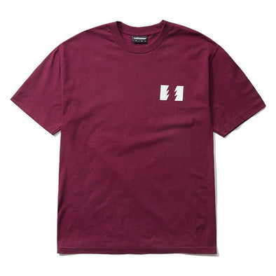 The Hundreds Wildfire T-Shirt Burgundy