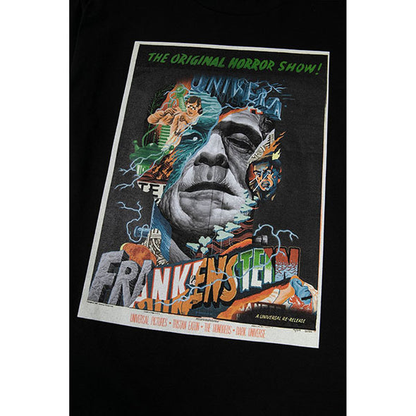 The Hundreds Frankenstein Horror T-Shirt Black