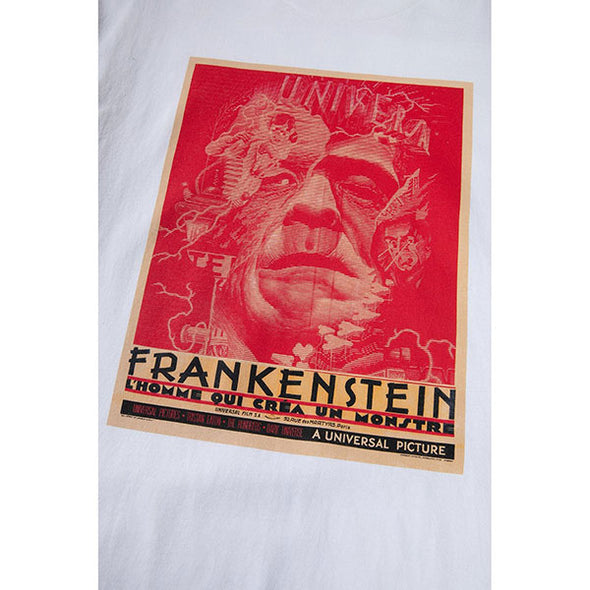 The Hundreds Frankenstein Sees Red T-Shirt White