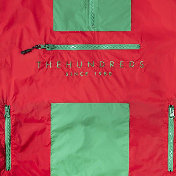 The Hundreds Guss Anorak Red