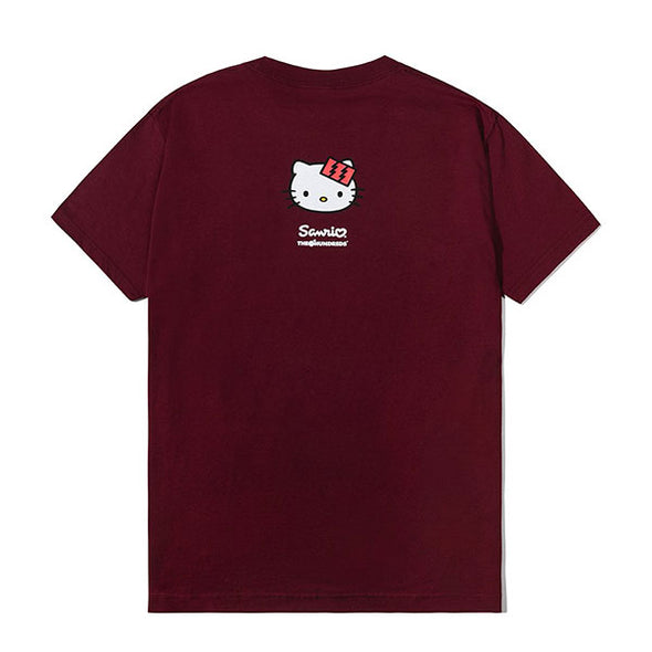 The Hundreds Hello Kitty T-Shirt Burgundy
