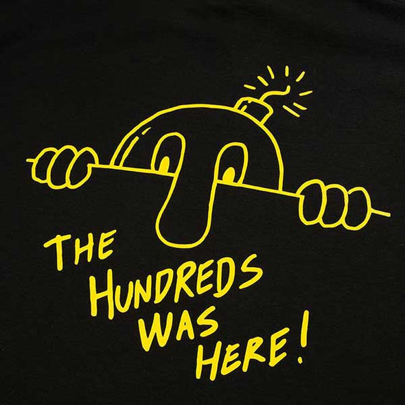 The Hundreds Here To Stay T-Shirt Black
