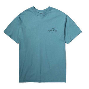The Hundreds Here To Stay T-Shirt Slate