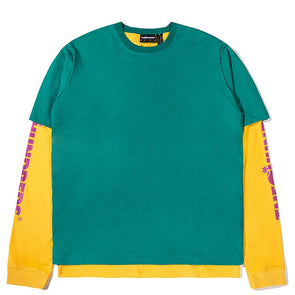 The Hundreds Hill L/S Shirt Green