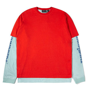 The Hundreds Hill L/S Shirt Red
