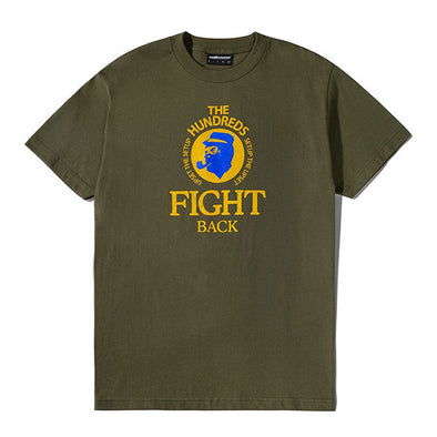 The Hundreds Jefe T-Shirt Military Green