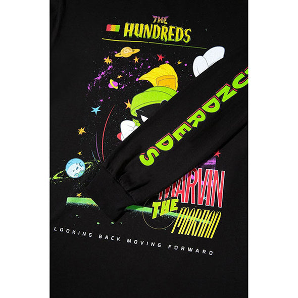 The Hundreds Marvin Entrance L/S Shirt Black