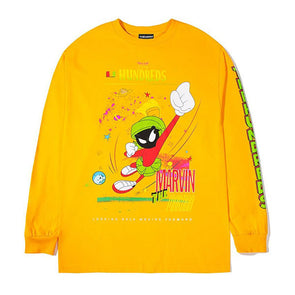 The Hundreds Marvin Entrance L/S Shirt Gold
