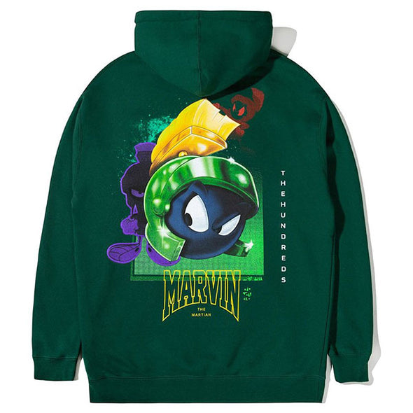 The Hundreds Marvin Rocket Pullover Hoodie Green