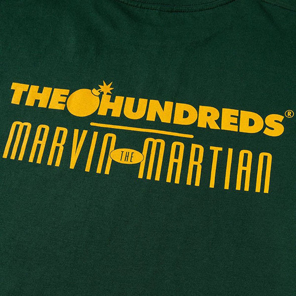 The Hundreds Marvin Space T-Shirt Green