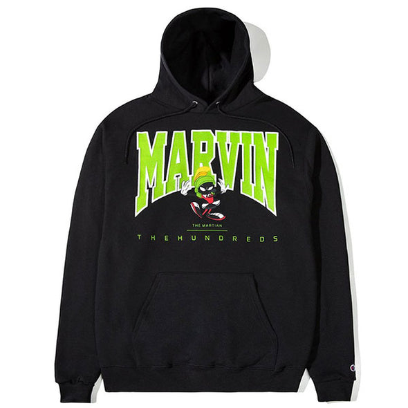 The Hundreds Marvin University Pullover Hoodie Black