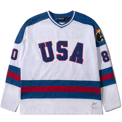 The Hundreds Miracle Hockey Jersey White