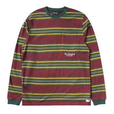 The Hundreds Norton L/S Shirt Burgundy