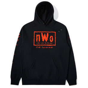 The Hundreds X WWE NWO Pullover Hoodie Black