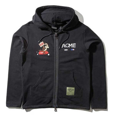 The Hundreds X Looney Tunes Oops Zip-Up Hoodie Black