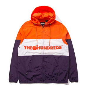 The Hundreds Port Jacket Orange
