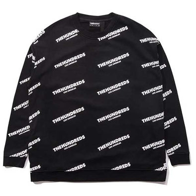 The Hundreds Punch Crewneck Black