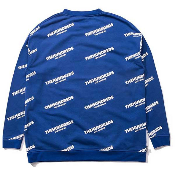 The Hundreds Punch Crewneck Blue