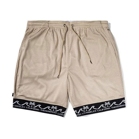 The Hundreds Reversible Rim Shorts Khaki