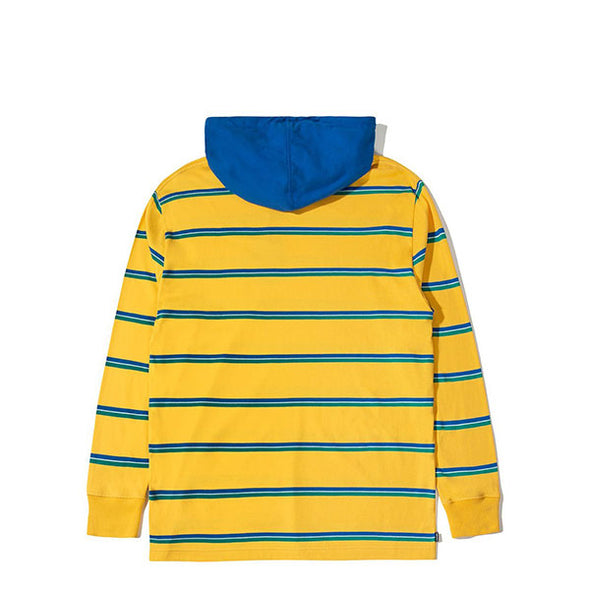 The Hundreds Ridge Hooded L/S Shirt Yellow