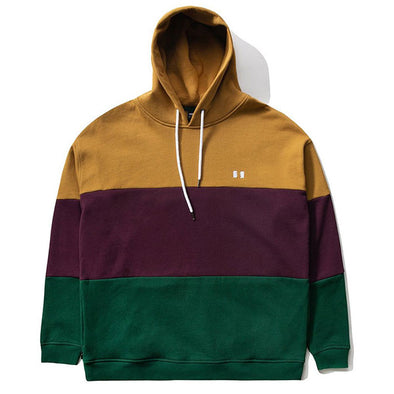 The Hundreds Seaton Pullover Hoodie Dark Khaki