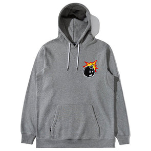 The Hundreds Switchback Pullover Hoodie Athletic Heather