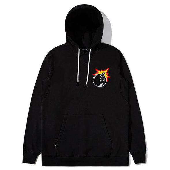 The Hundreds Switchback Pullover Hoodie Black