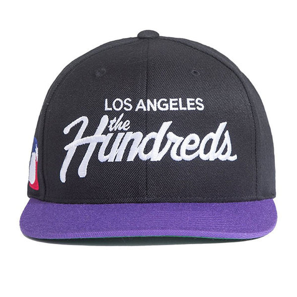 The Hundreds Team Snapback Black