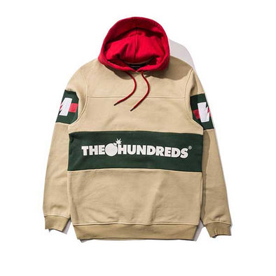 The Hundreds Tilly Pullover Hoodie Khaki