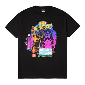 The Hundreds X WWE The Ultimate Warrior T-Shirt Black