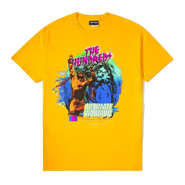 The Hundreds X WWE The Ultimate Warrior T-Shirt Gold
