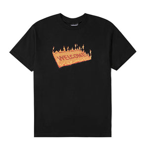 The Hundreds Welcome T-Shirt Black
