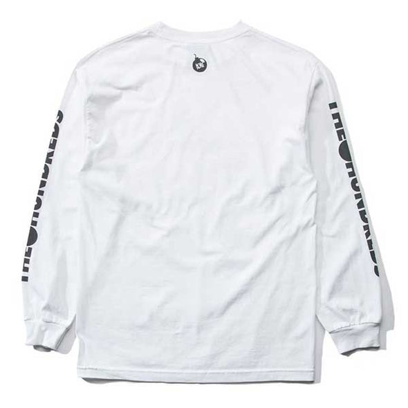 The Hundreds X Looney Tunes Wile E. L/S Shirt White