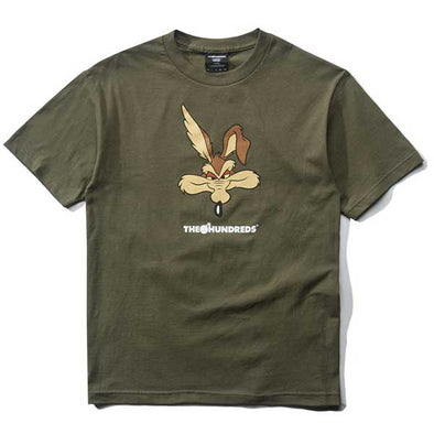 The Hundreds X Looney Tunes Wile E. T-Shirt Military Green