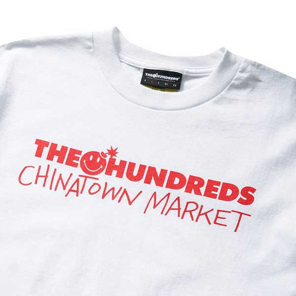 The Hundreds X Chinatown Market Chinatown Bar T-Shirt White