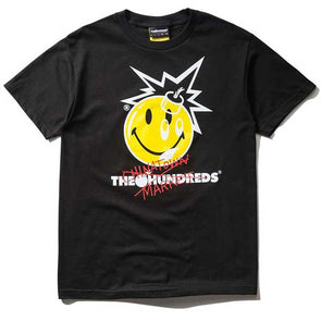 The Hundreds X Chinatown Market Crossout Adam T-Shirt Black