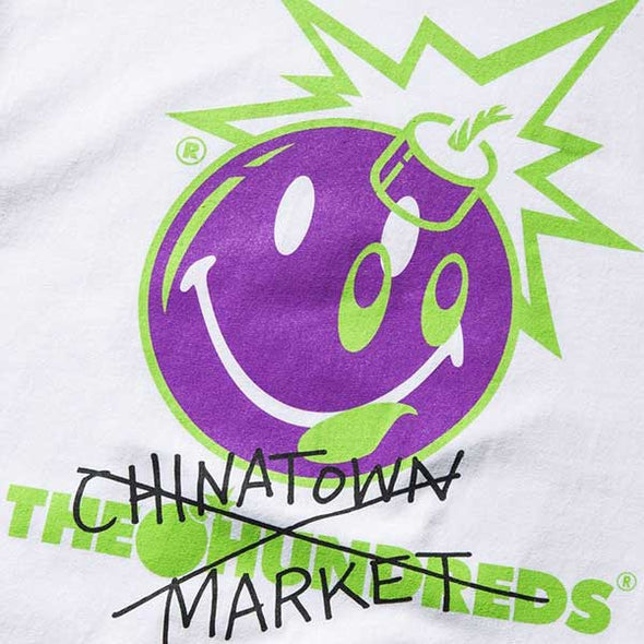 The Hundreds X Chinatown Market Crossout Adam T-Shirt White