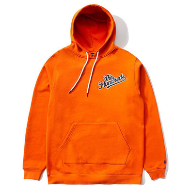 The Hundreds Yard Pullover Hoodie Orange