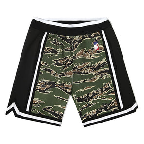 The Hundreds Zone Basketball Shorts Camo