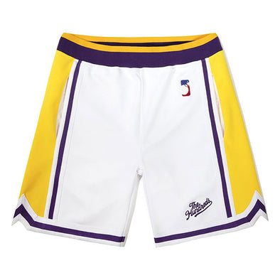 The Hundreds Zone Basketball Shorts White