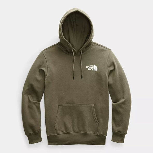 The North Face Box NSE Pullover Hoodie Burnt Olive Green