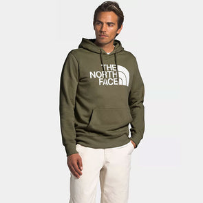 The North Face Half Dome Pullover Hoodie Burnt Olive Green