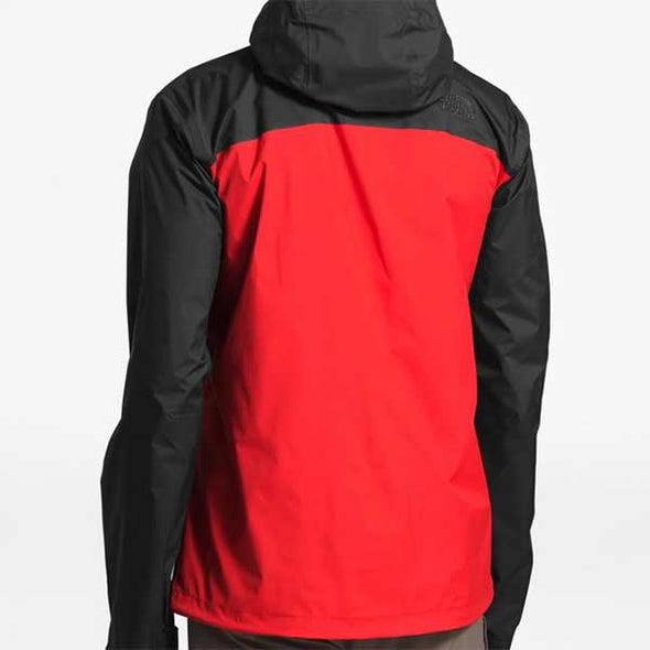 The North Face Venture 2 Jacket Fiery Red/Asphalt Grey