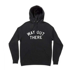 The Quiet Life Way Out There Pullout Hood Black - Xtreme Boardshop