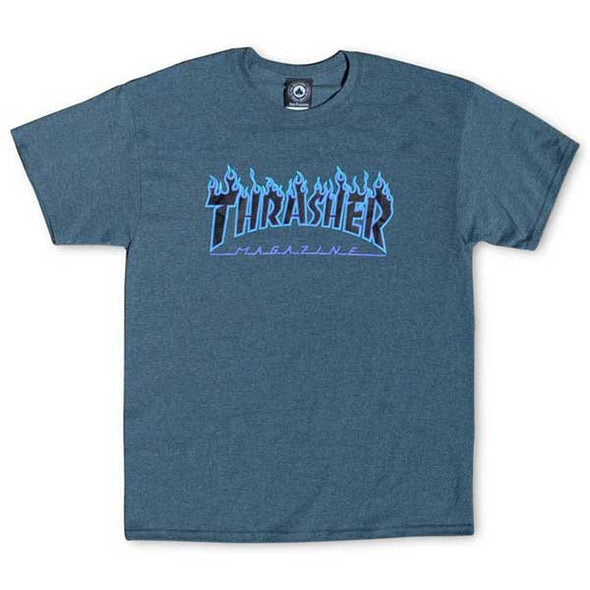 Thrasher Flame Dark Heather - Xtreme Boardshop