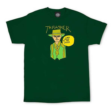 Thrasher Gonz Cash T-Shirt Forest Green