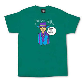 Thrasher Gonz Cash T-Shirt Jade