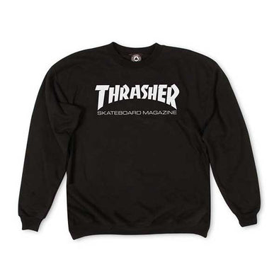 Thrasher Skate Mag Crewneck Black - Xtreme Boardshop