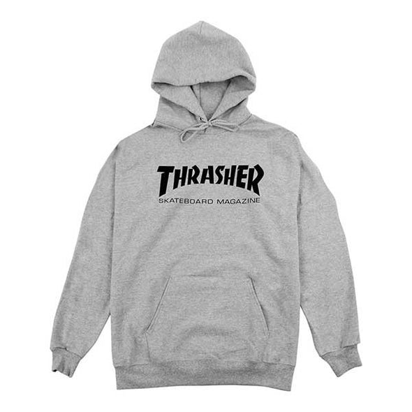 Thrasher Skate Mag Hood Grey - Xtreme Boardshop